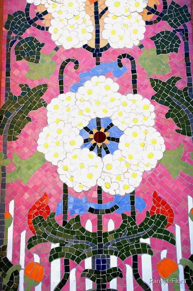 Spanish Flowers by Parmjit-Flora