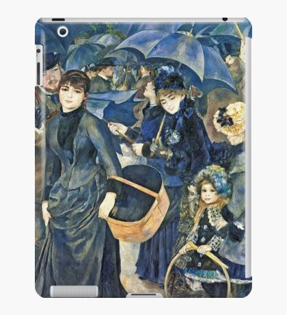 Renoir Auguste - The Umbrellas  iPad Case/Skin