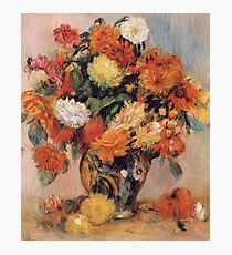 Renoir Auguste - Vase Of Flowers Photographic Print