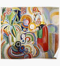 Robert Delaunay - Portuguese Woman  Poster