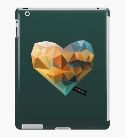 Vector Love 03 iPad Case/Skin