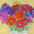 My Flowers in a Vase by Anne Gitto
