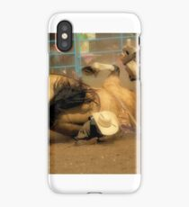 Rodeo Crunch Time iPhone Case