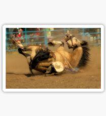 Rodeo Crunch Time Sticker