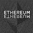 Ethereum Binary rectangle shaped by Andrea Beloque