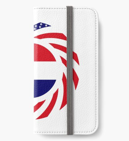 Dutch American Multinational Patriot Flag Series iPhone Wallet