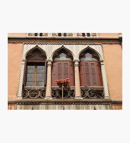 Triple Window Photographic Print