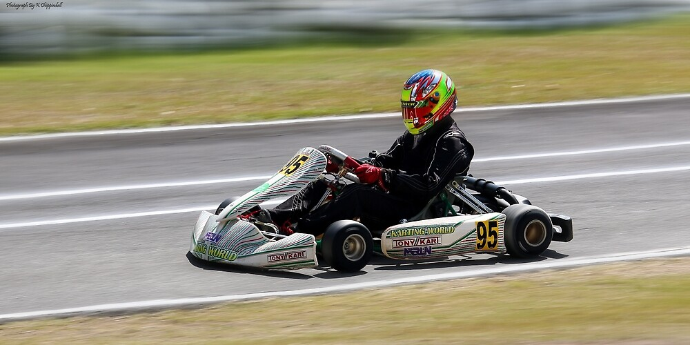 Wingham Go karts 01 by kevin Chippindall