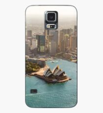 Sydney from the Sky Case/Skin for Samsung Galaxy