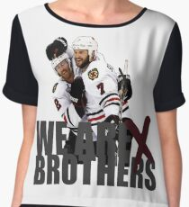 We are Brothers Chiffon Top
