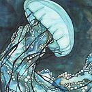 Aqua Jellyfish by Tamara Phillips