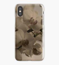 vintage orchids iPhone Case/Skin