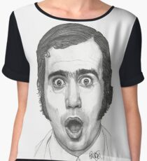 Andy Kaufman Women's Chiffon Top
