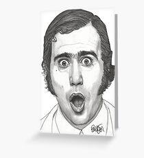 Andy Kaufman Greeting Card