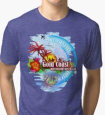 Gold Coast Queensland, Australia Tri-blend T-Shirt