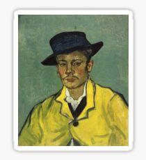 Vincent Van Gogh - Armand Roulin 1888 Sticker