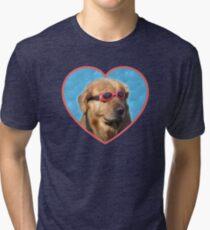 cae7041d1c33 Doggo Stickers  Swimmer Dog Tri-blend T-Shirt