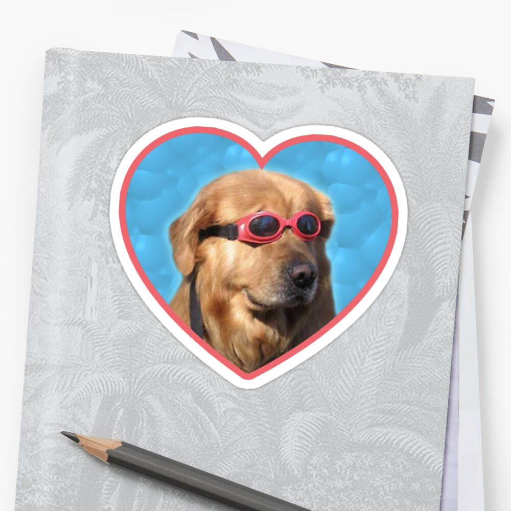 Doggo Stickers: Swimmer Dog Stickers