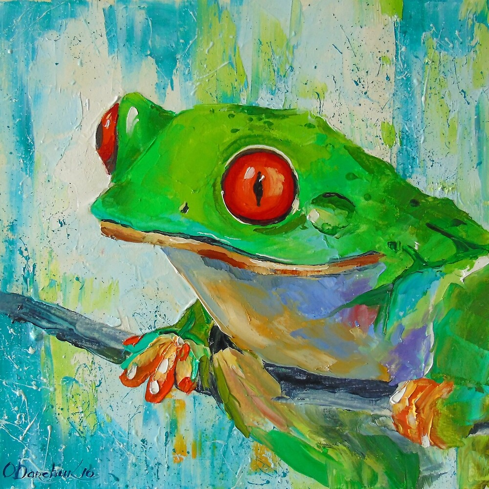 Frog by Olyha