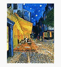 Vincent Van Gogh - Cafe Terrace, Place Du Forum, Arles 1888  Photographic Print