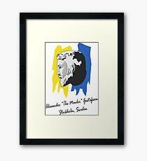 "Alexander ""The Mauler"" Gustafsson Framed Print"