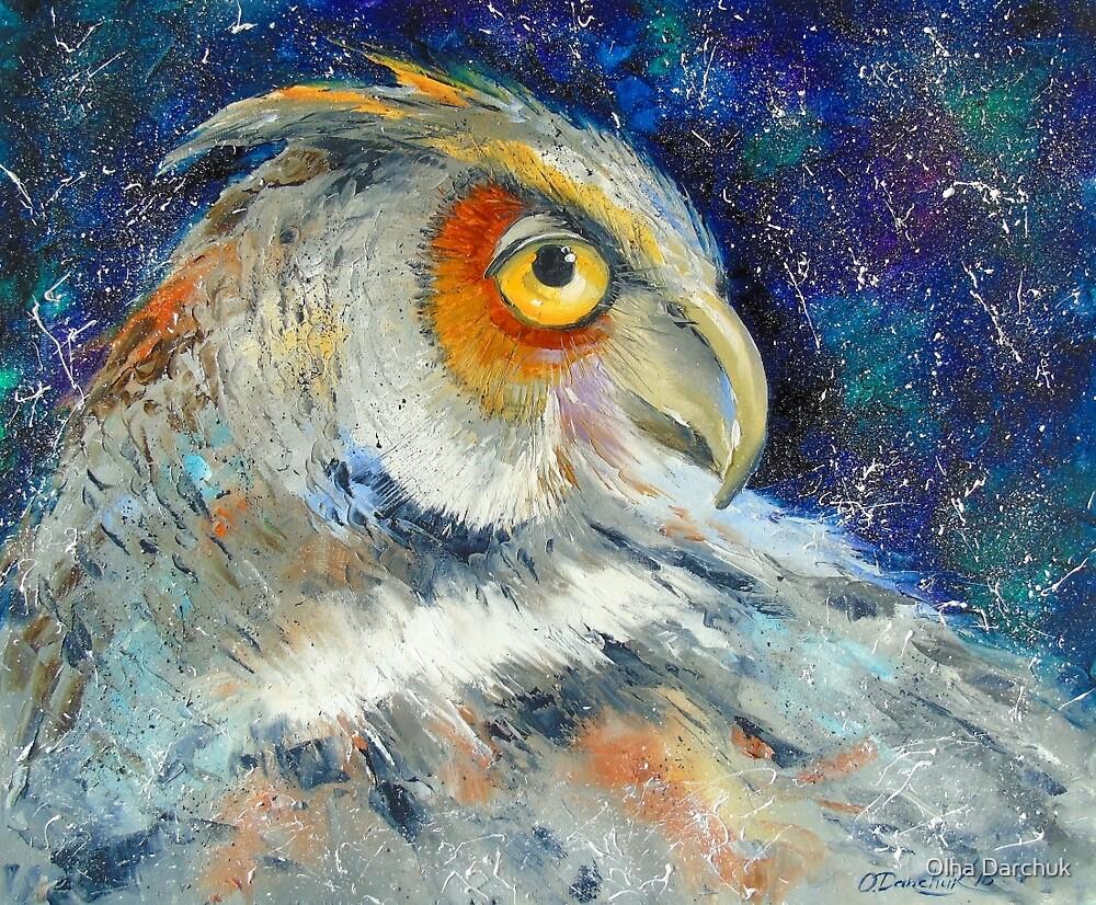Owl, by Olyha