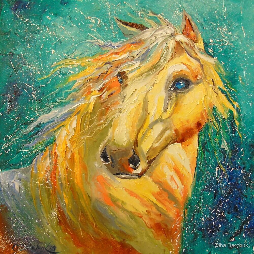 Horse by Olyha