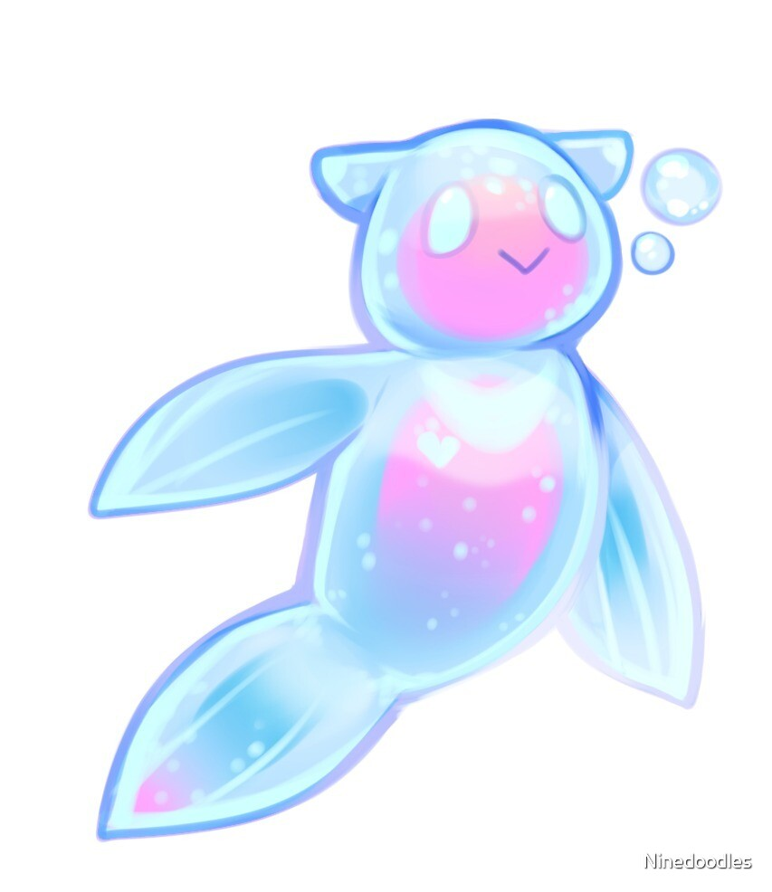 Sea Angel Love by Ninedoodles