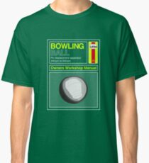 Bowling Ball Workshop Manual Classic T-Shirt