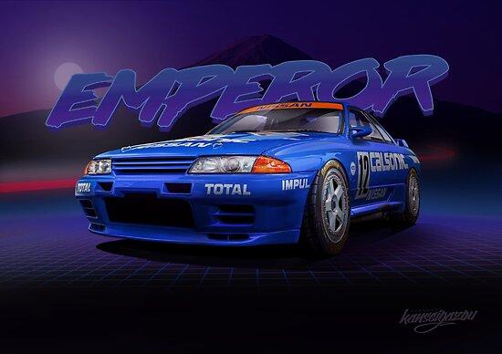 """R32GTR - Calsonic """"EMPEROR"""" by kanseigazou"""