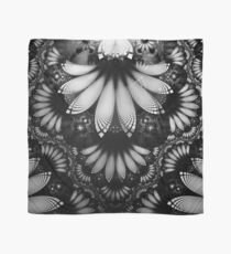 Shikoba Fractal -- Beautiful Glittering Feathers in the Night Scarf