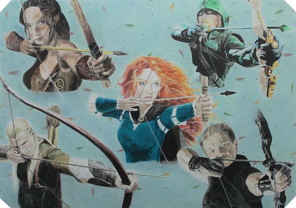 Fantasy Archery Contest by rynzler