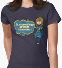 Good-Natured Necromancer Women's Fitted T-Shirt