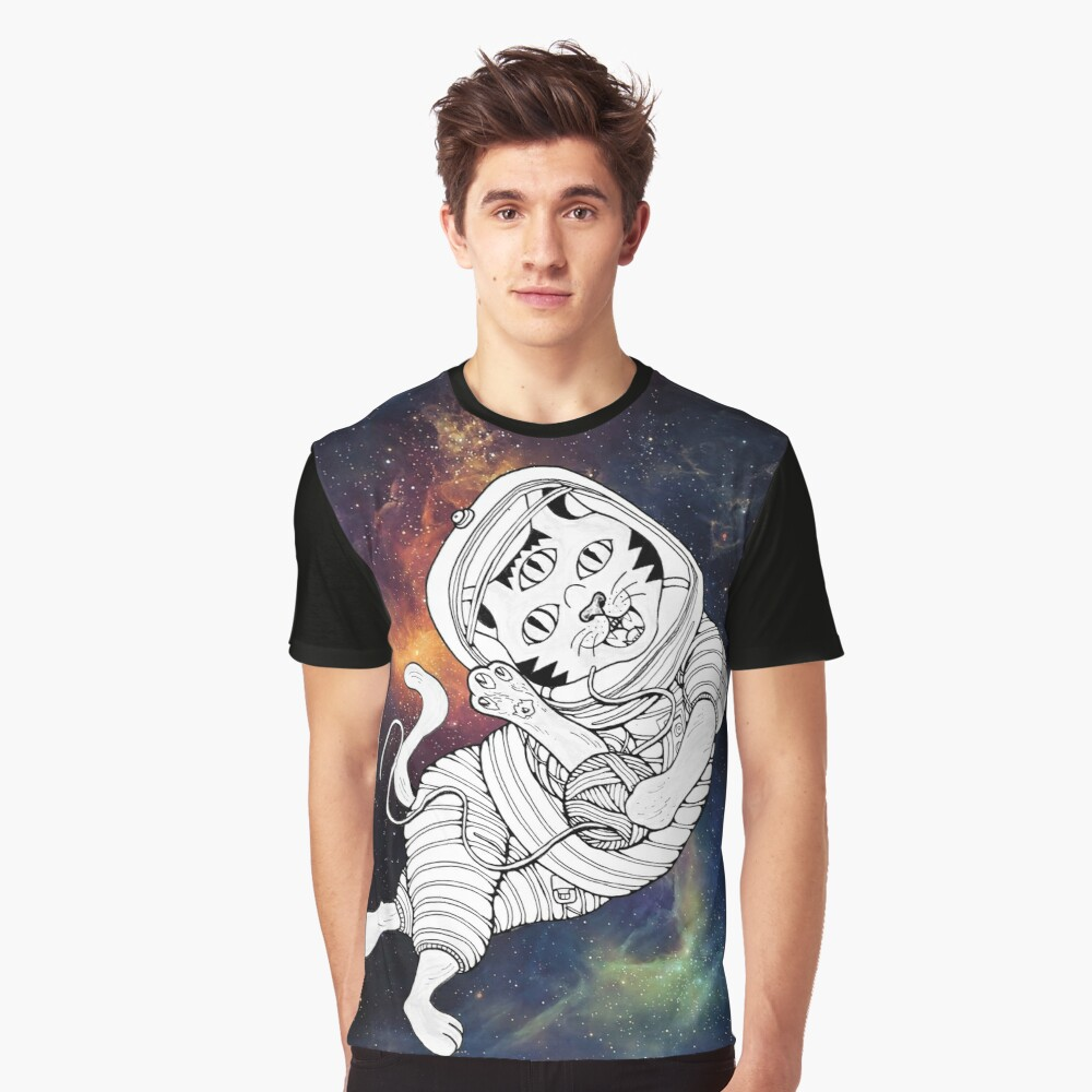 Lost in the Space Graphic T-Shirt Front