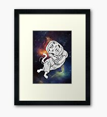 Lost in the Space Framed Print