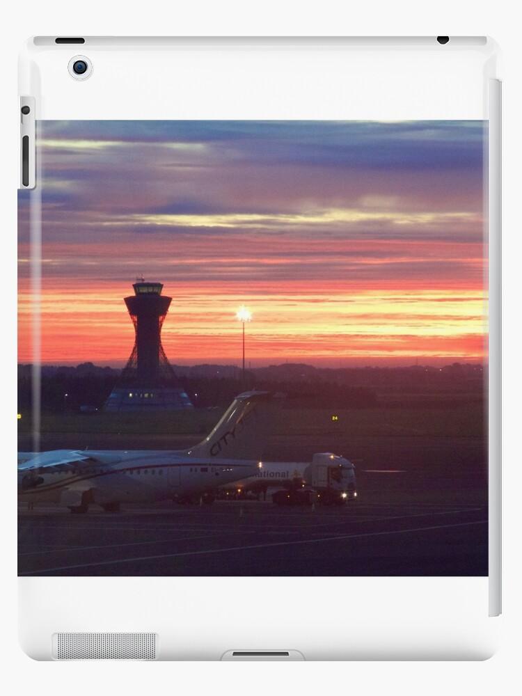 Newcastle Airport Dawn Sunrise by Rob Cole