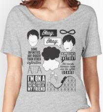 The Fault In Our Stars Collage Women's Relaxed Fit T-Shirt