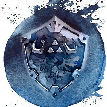 Hyrule Shield Zelda by Happy-Bird