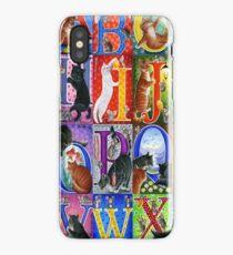 Cats Alphabet iPhone Case/Skin