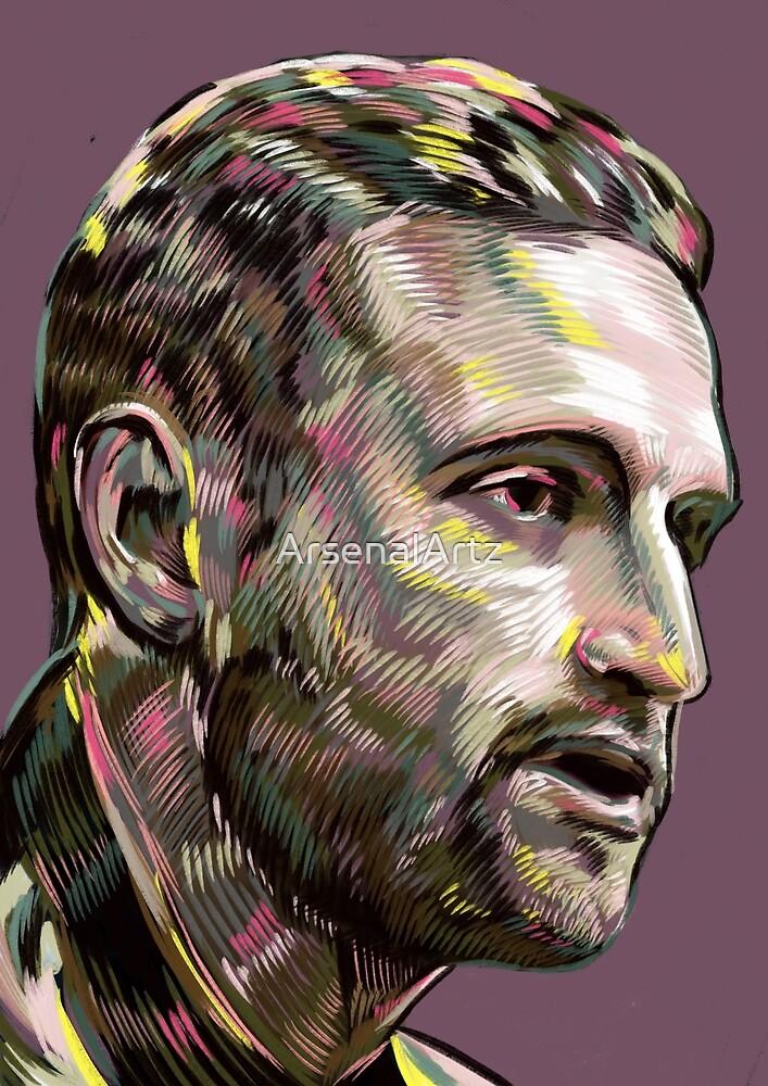 Mustafi - Arsenal defender by ArsenalArtz