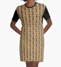 Anonymous - A Girls Kindness Sometimes Surpasses A Gentlemans - Circa 1875 - Woodcut Graphic T-Shirt Dress