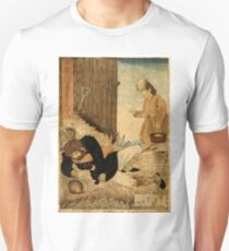 Anonymous - A Girls Kindness Sometimes Surpasses A Gentlemans - Circa 1875 - Woodcut T-Shirt
