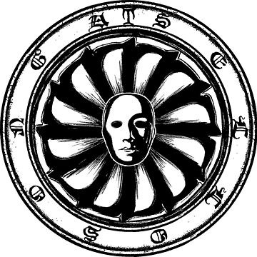 Emblem of Sellosonga (Death mask) by Gosodfrid