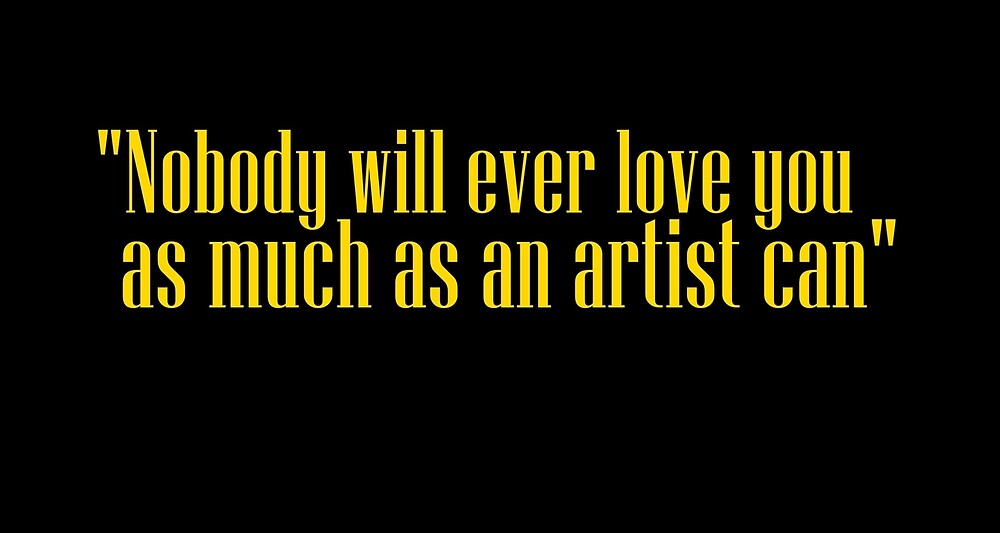 artists love you by HugoRmn
