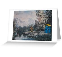 Nature Called Greeting Card