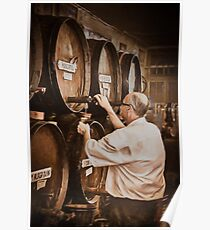 The cask manager Poster