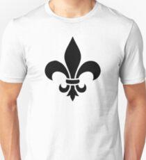Fleur de lis lily Unisex T-Shirt