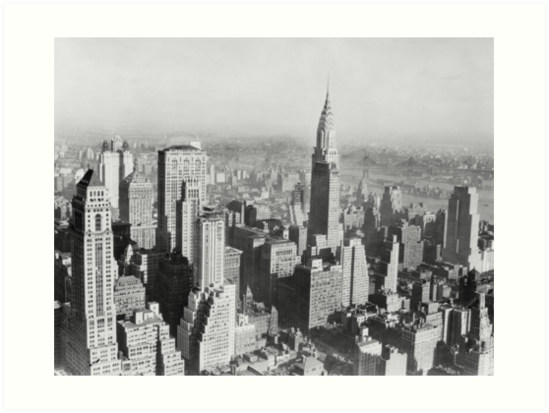 New York City, 1931 – Chrysler Building by MetroStore