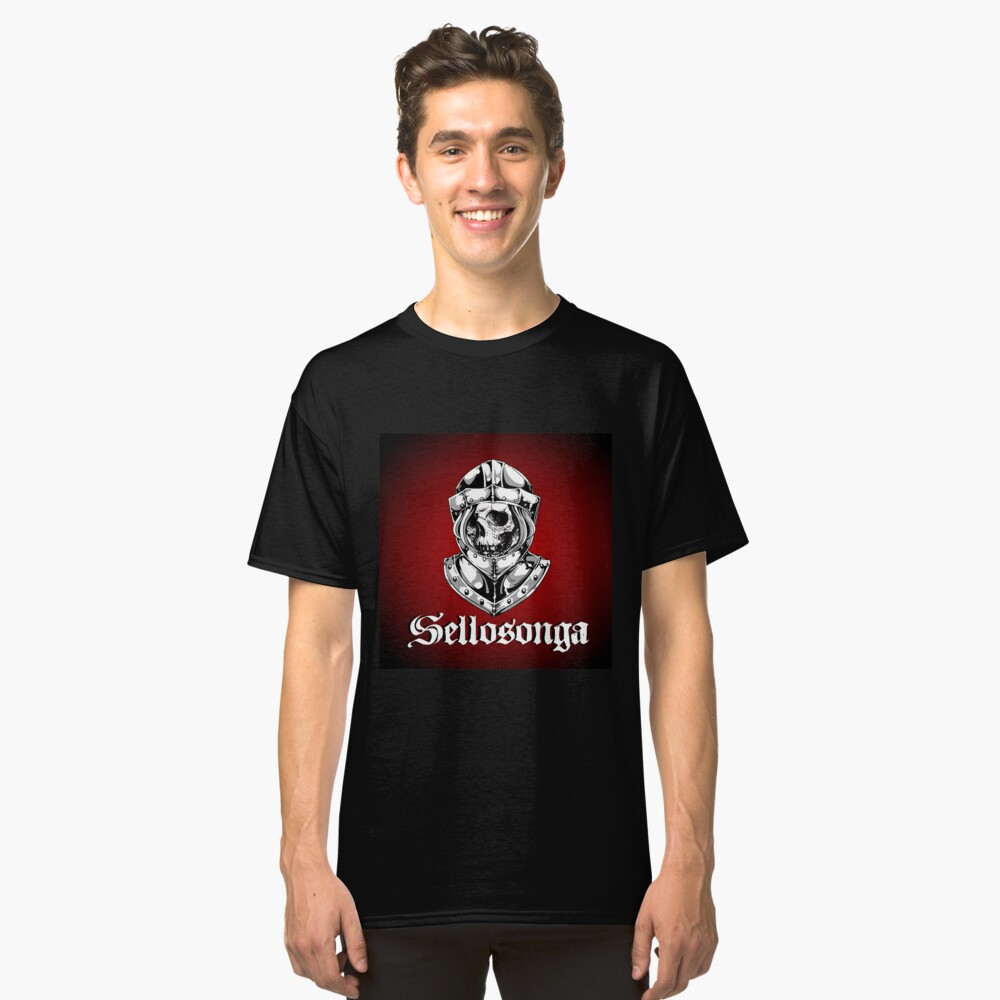 Sellosonga kneht helm Classic T-Shirt Front
