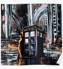 Doctor Who Art Painting Poster